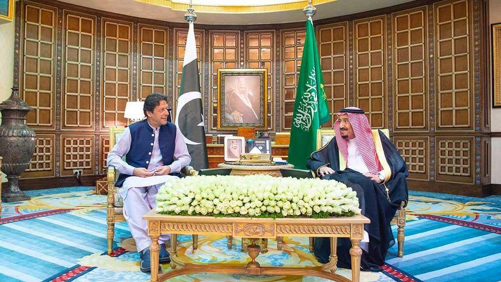 Pakistan PM Khan in Saudi Arabia for Talks with King Salman