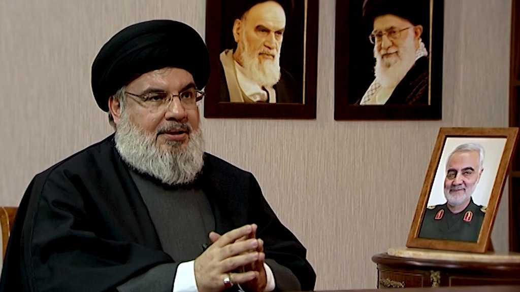 Sayyed Nasrallah Outlines the Rise of Lebanese Resistance, Relationship with Martyr Qassem Soleimani