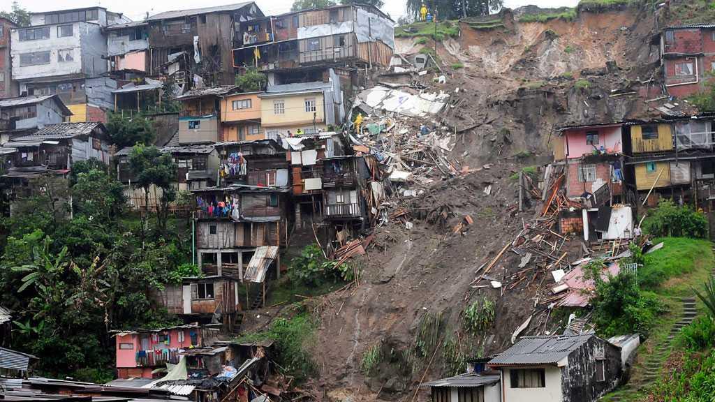 Seven Killed After Landslide in Colombia, 15 Missing