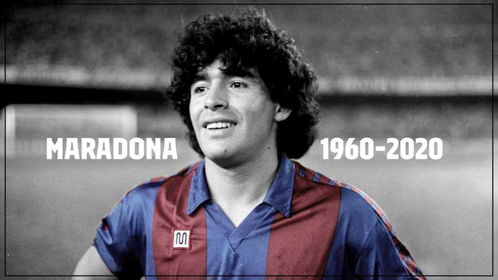 Football Legend Maradona Dead At 60
