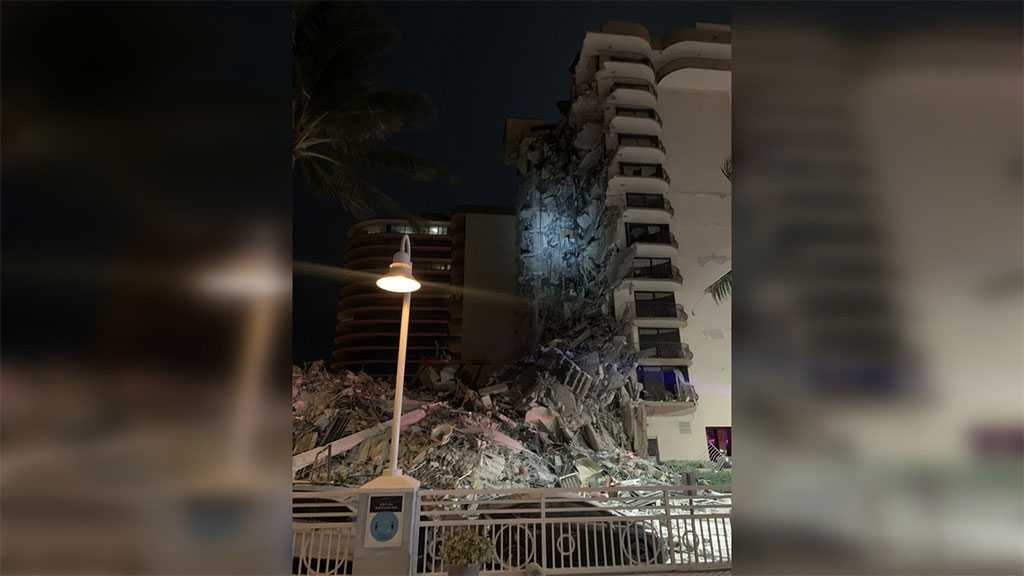 Multiple Casualties Feared As Building Partially Collapses In Florida