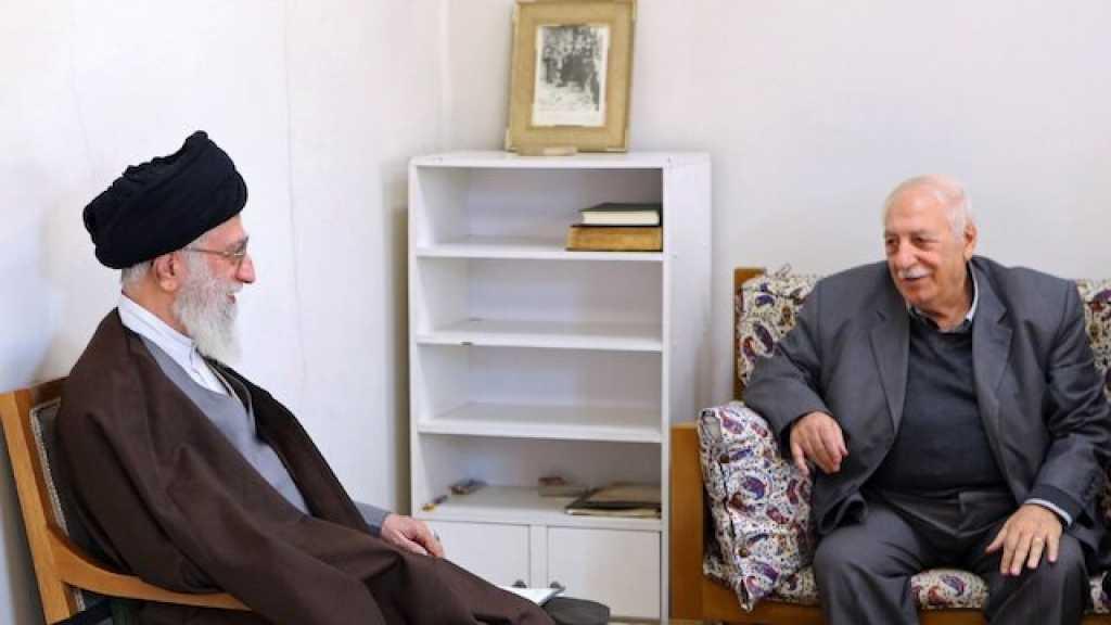 Imam Khamenei Offers Condolences on the Demise of Palestinian Leader, Ahmad Jibril