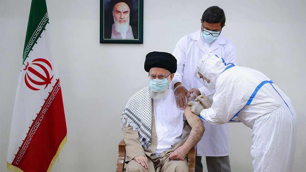 Imam Khamenei Receives Second Dose of Iran-made Coronavirus Vaccine