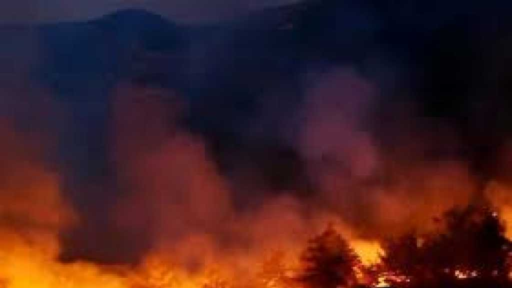 Lebanon's Wildfire Rages for 2nd Day, Spreads to Syria