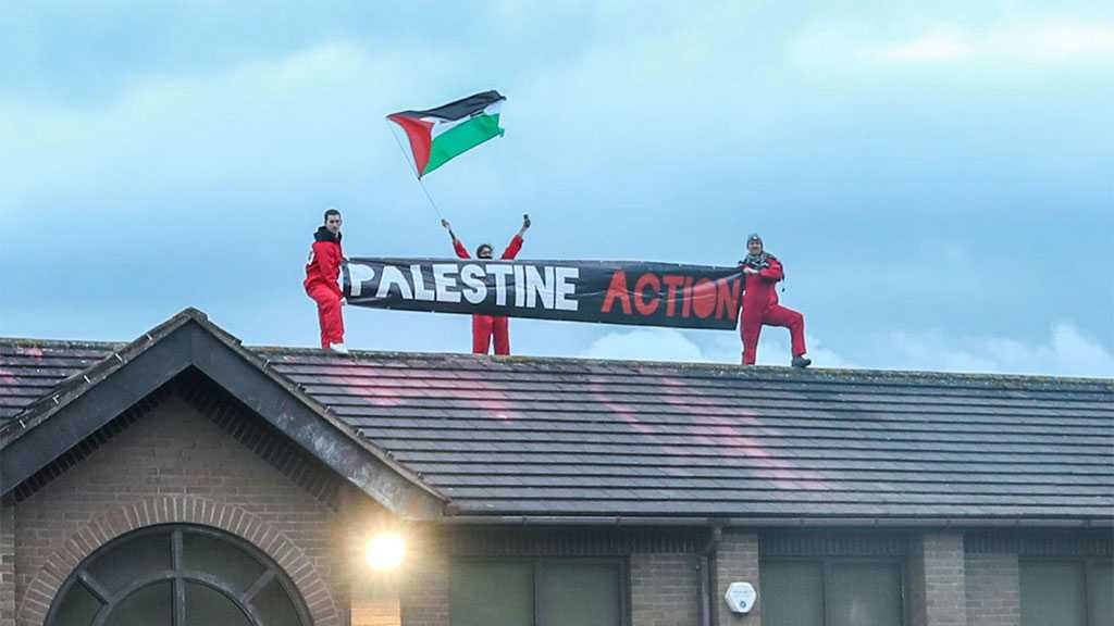 Activists Occupy 'Israeli' Arms Factory in UK, Halt Its Operations
