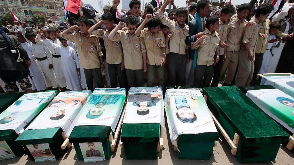 Saudi War Killed or Maimed 10k Yemeni Children - UNICEF