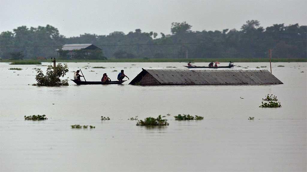 Massive Floods, Landslides Kill 116, Displace Others in India, Nepal