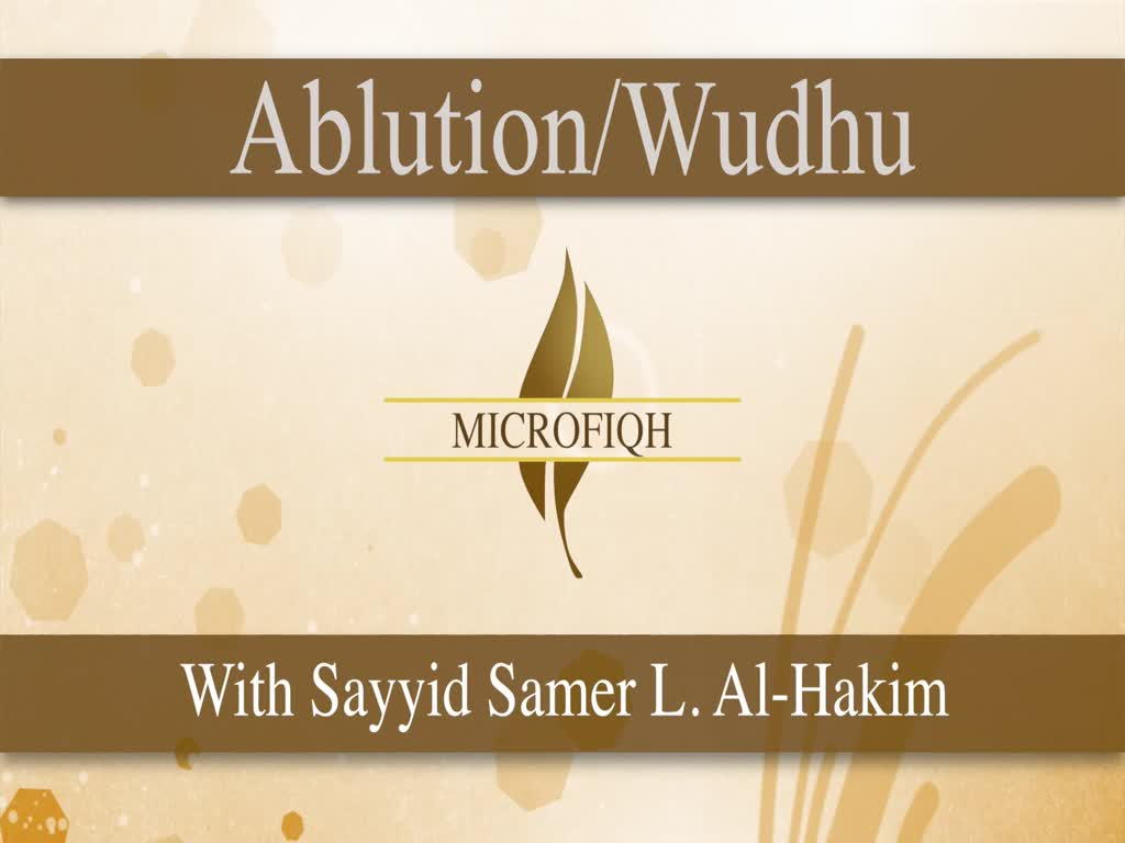 How to Perform Wudhu (Shia School of Thought) | MICROFIQH | English