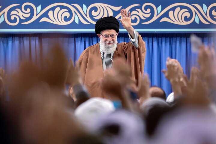 Imam Khamenei's thanks to the Iranian nation