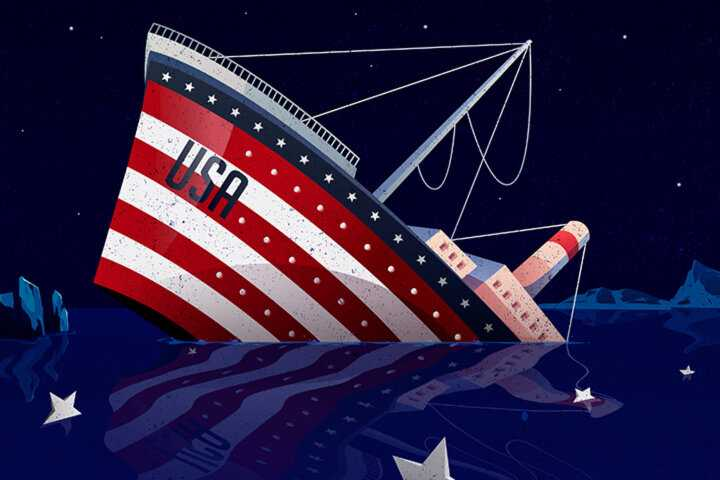 The US will sink like the Titanic