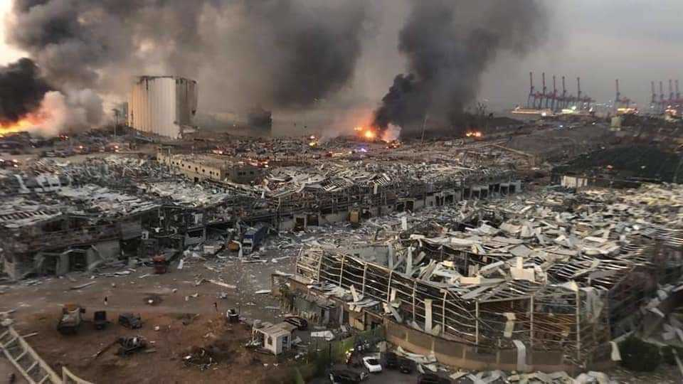 European Union Pledges Aid, Support for Lebanon after Beirut Blast