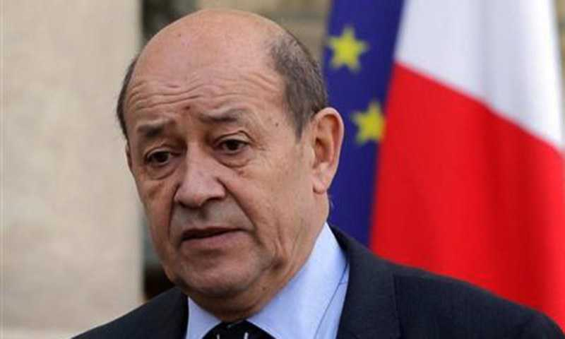 France Stands by Lebanon: Le Drian