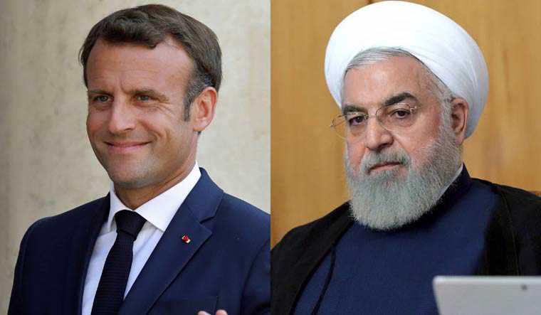 Macron Discuss with Rouhani Latest Developments in Lebanon