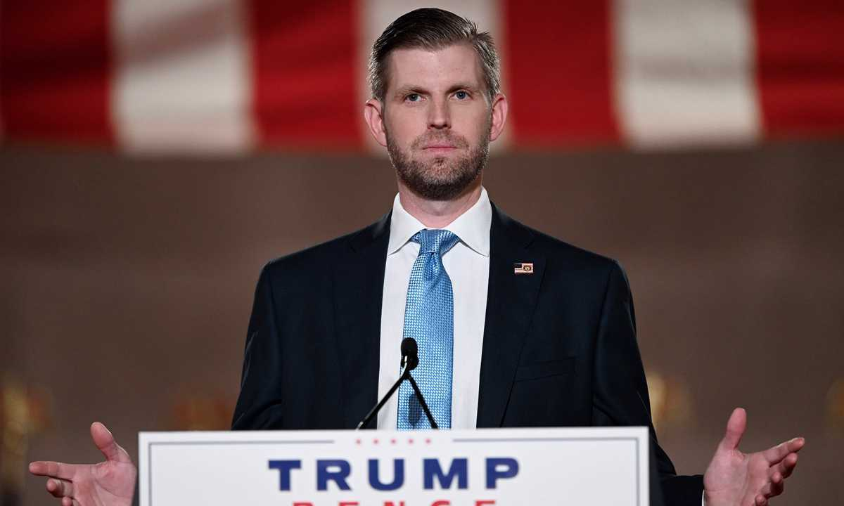 President Trump's Son Eric Ordered to Testify in Fraud Probe