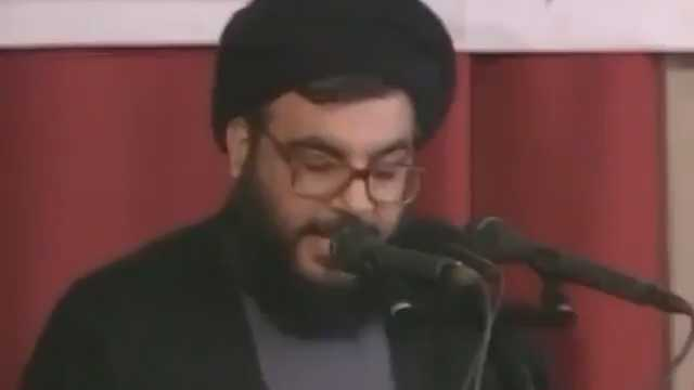 Video Shows Sayyed Nasrallah Announcing Capture of Zionist Colonel Elhanan Tannenbaum 20 Years Ago
