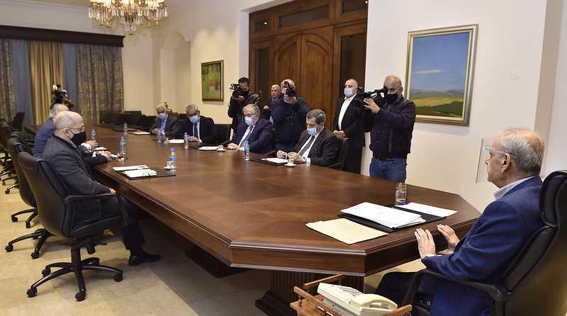 Speaker Berri Chairs Parliament Bureau Meeting