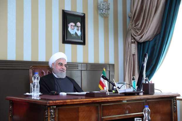 Iranian President Urges Global Condemnation of Israeli Crimes against Palestine