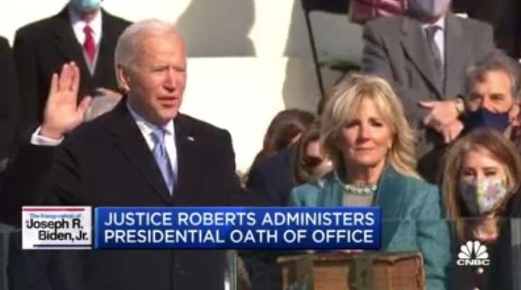 Joe Biden Sworn in as President: 'Democracy Has Prevailed'