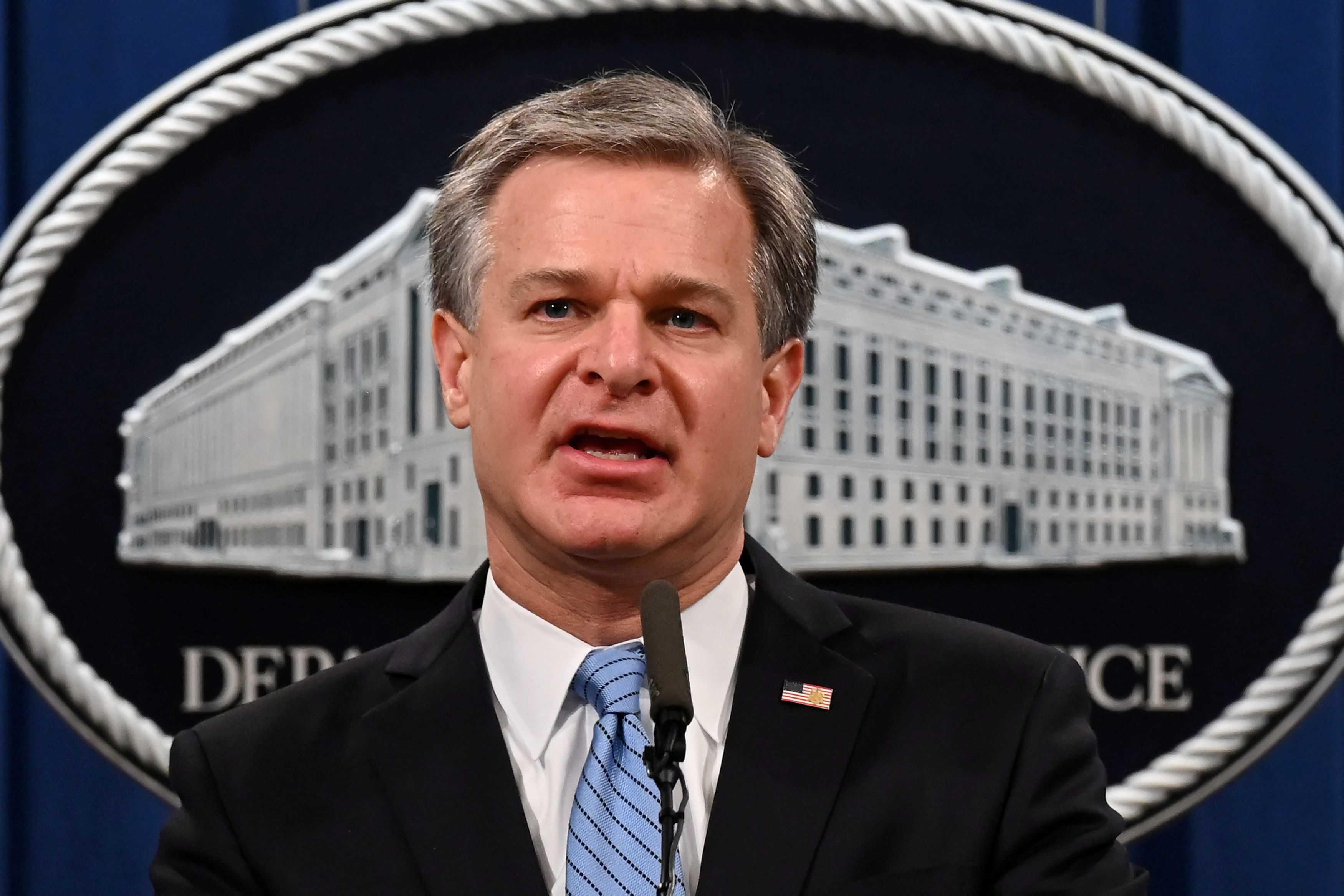 FBI Director: Capitol Siege Was 'Domestic Terrorism'