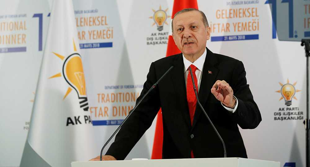 Erdogan Calls for Lifting Unilateral Sanctions on Iran, Reviving Nuclear Deal