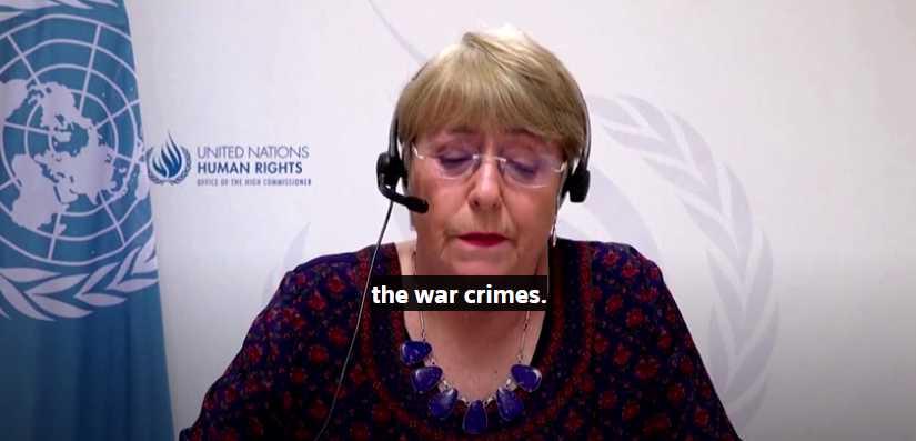 UN Rights Chief: Israeli Strikes on Gaza May Be War Crimes