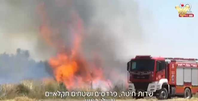 Gaza Incendiary Balloons Confuse 'Israel', Enclave Settlers Outraged over Gov't Failure to Face Threat