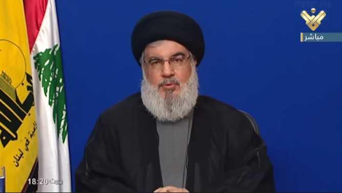 Sayyed Nasrallah Reiterates: Shia Muslims in Lebanon Are Not Seeking Tripartite Power-sharing