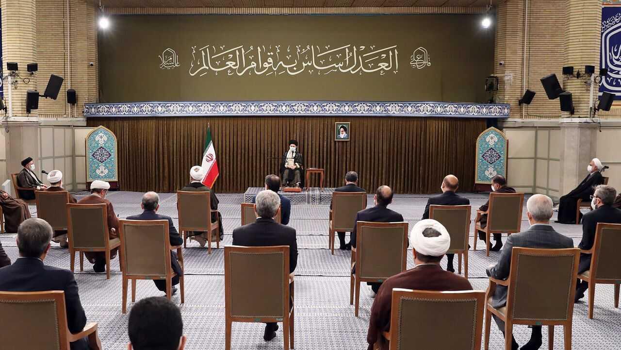 Imam Khamenei: Iranians Dealt Heavy Blow to Those Who Called for Vote Boycott