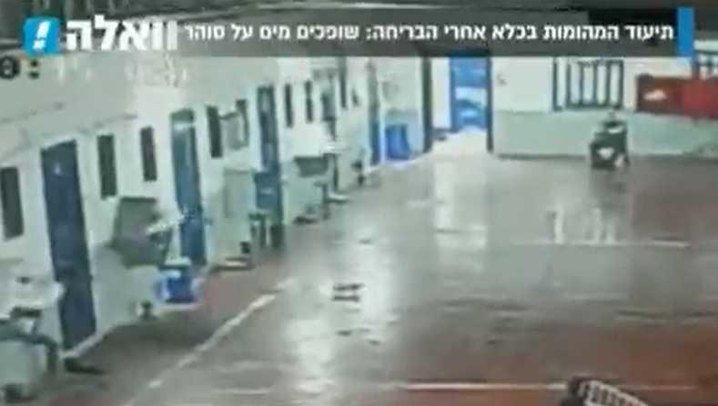 Palestinian Prisoner Throws Boiling Water on Israeli Guard: Video