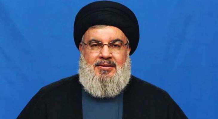 Sayyed Nasrallah Tackles Latest Developments via Al-Manar TV on Monday