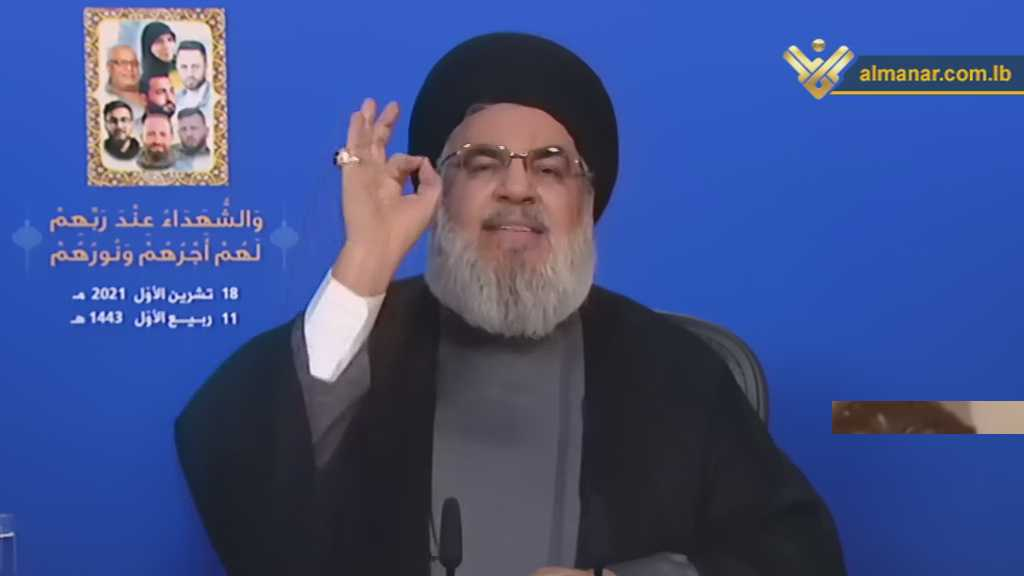 Sayyed Nasrallah to Criminal Geagea: Beware, Hezbollah Has 100,000 Well-Trained Fighters (Video)