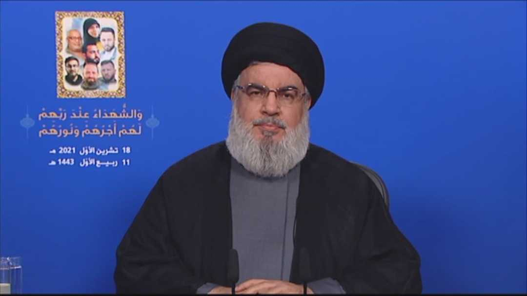 Sayyed Nasrallah to Lebanese Forces: Don't Miscalculate, Hezbollah Has 100,000 Fighters