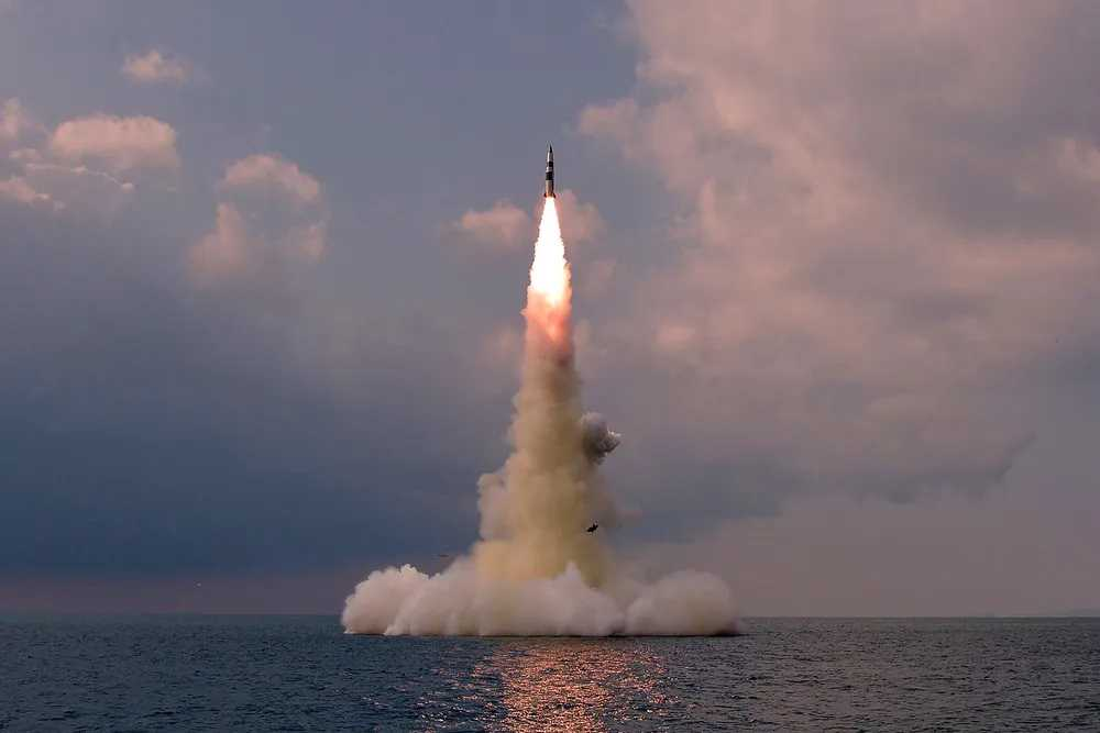 North Korea Confirms Testing of Submarine-launched Missile