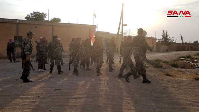Syrian Army Expands Deployment in Several New Villages in Tal Tamer in Hasaka Province