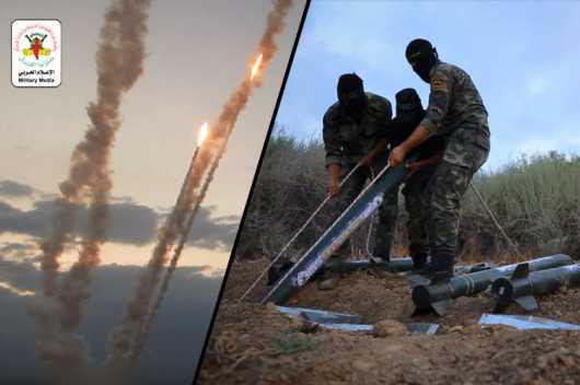 Video Shows Gaza Rockets fired by Islamic Jihad at Israeli Settlements