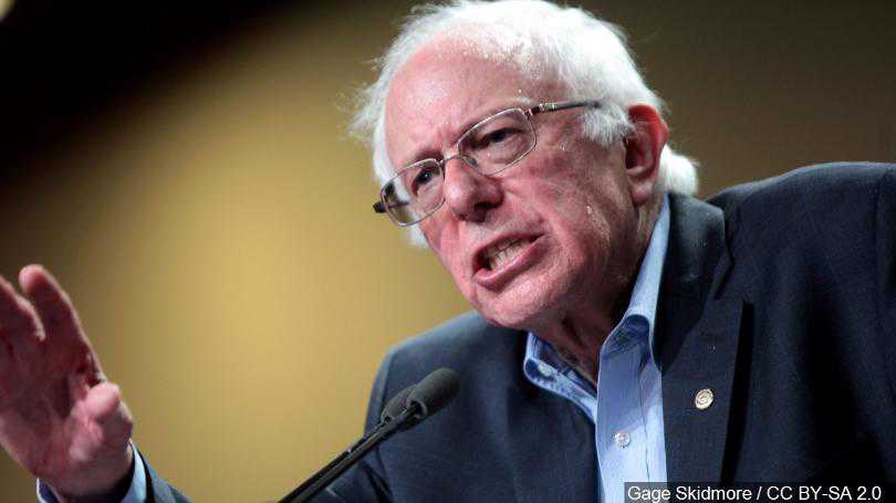 US' Frontrunner in Dem. Presidential Race Says AIPAC Platform for 'Bigotry'