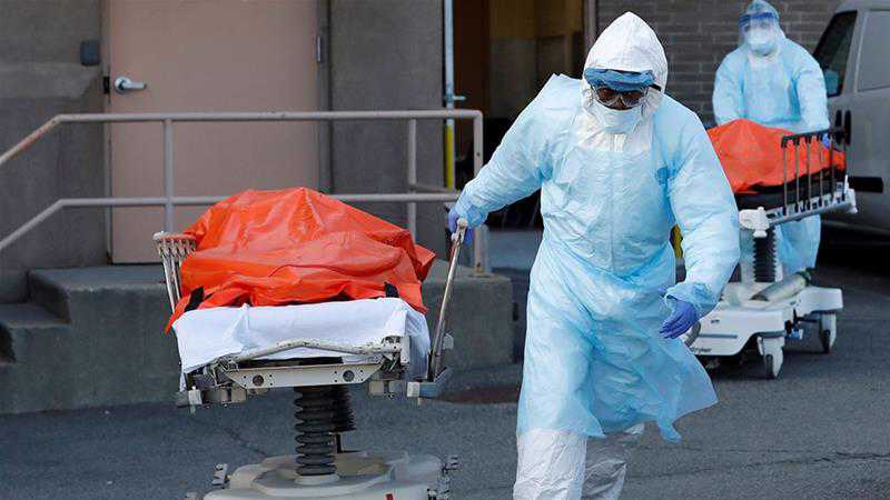 US Coronavirus Death Toll Nears 15,000, Second Only to Italy