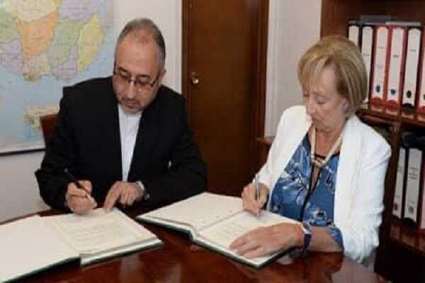 Iran, Uruguay ink MoU on research, training, technology coop.