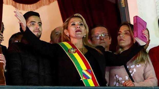 Senator Jeanine Anez declares herself as Bolivia's interim President