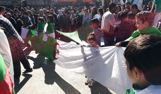 """""""No to foreign interference"""": Algerians dissipating disaccord in face of European Parliament's resolution"""