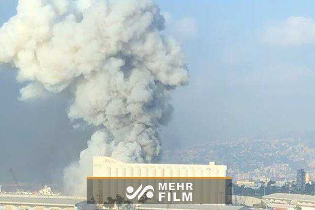 Powerful explosion occurred in port of Beirut