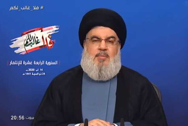 Nasrallah thanks Martyr Soleimani for role in 33-day war