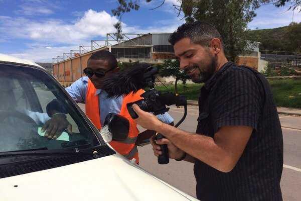 El Salvadorian filmmaker hails medical personnel