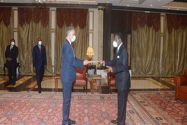 Envoy submits credentials to president of Equatorial Guinea
