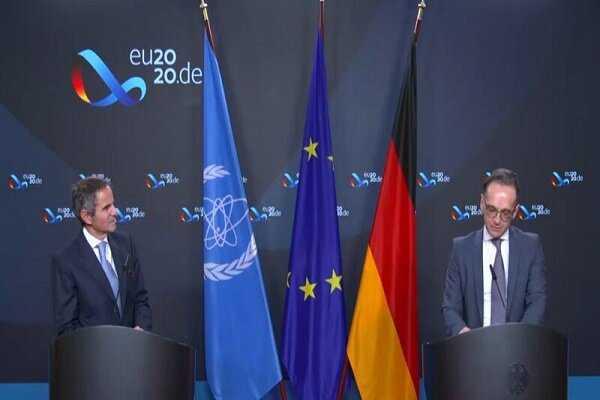 European troika still call for maintaining JCPOA: German FM