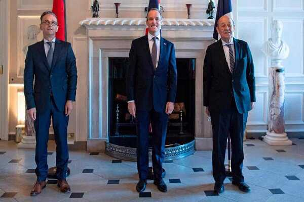 E3 foreign ministers to discuss Iran nuclear deal