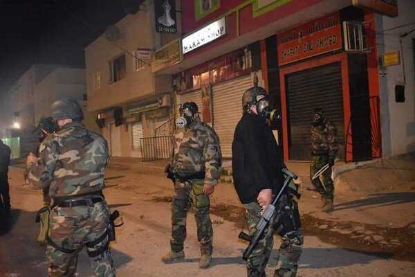 Clashes renewed in Tunis between security forces & protestors