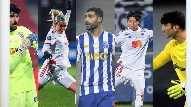 Three Iranians shortlisted for AFC Intl. Player of Week