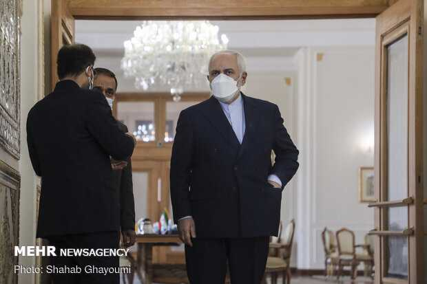 "Iran FM stresses again ""JCPOA cannot be renegotiated"""