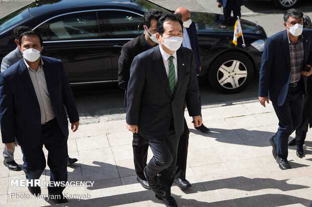 Republic of Korea PM visit to Tehran